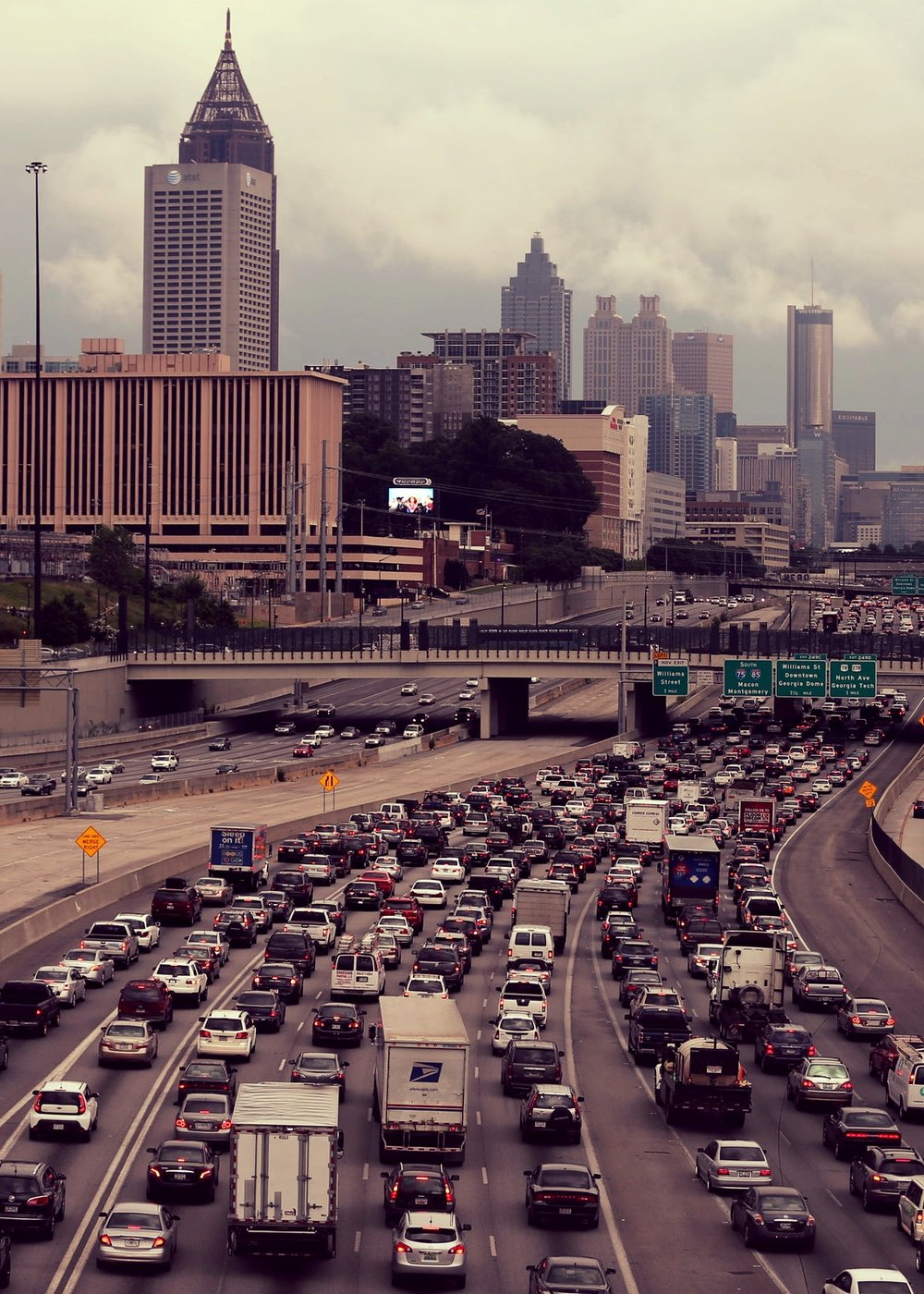 ATLANTA   With displaced populations from coastal cities streaming northward to here and other southern cities, social services are over-stretched. This summer's 130° heat wave is killing the homeless by the hordes.
