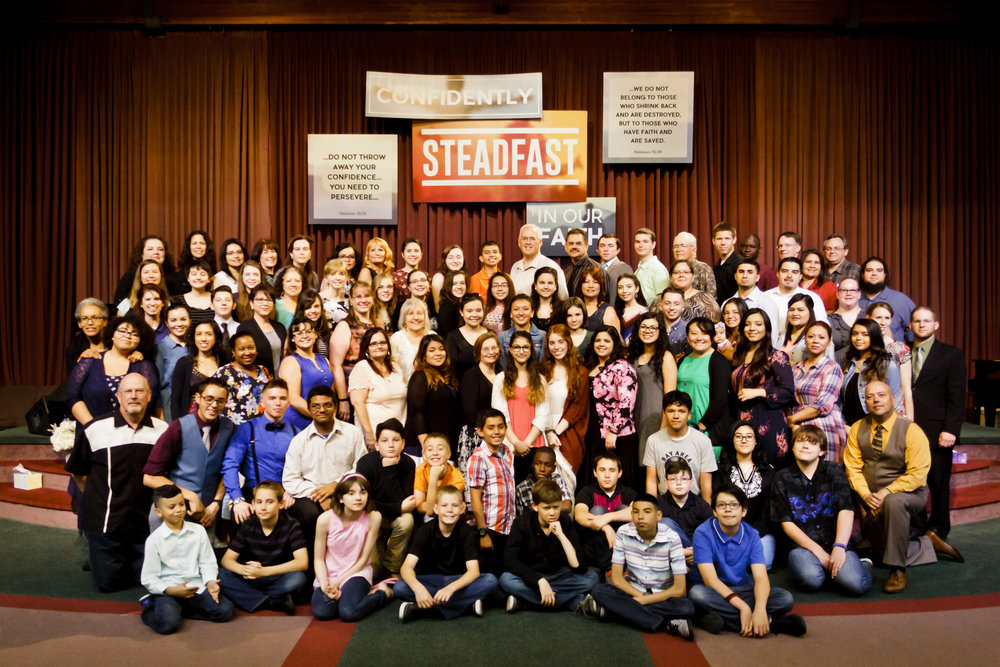 Above: Next Generation Ministries workers and students.