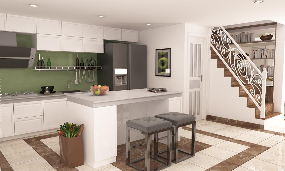 03. Kitchen + Dinning area