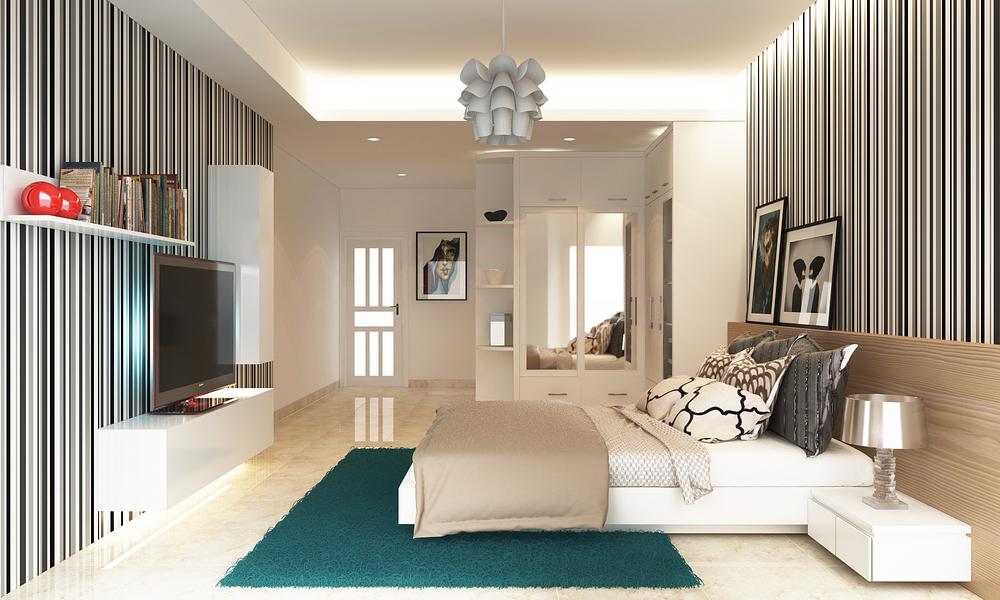 06. First floor master bedroom