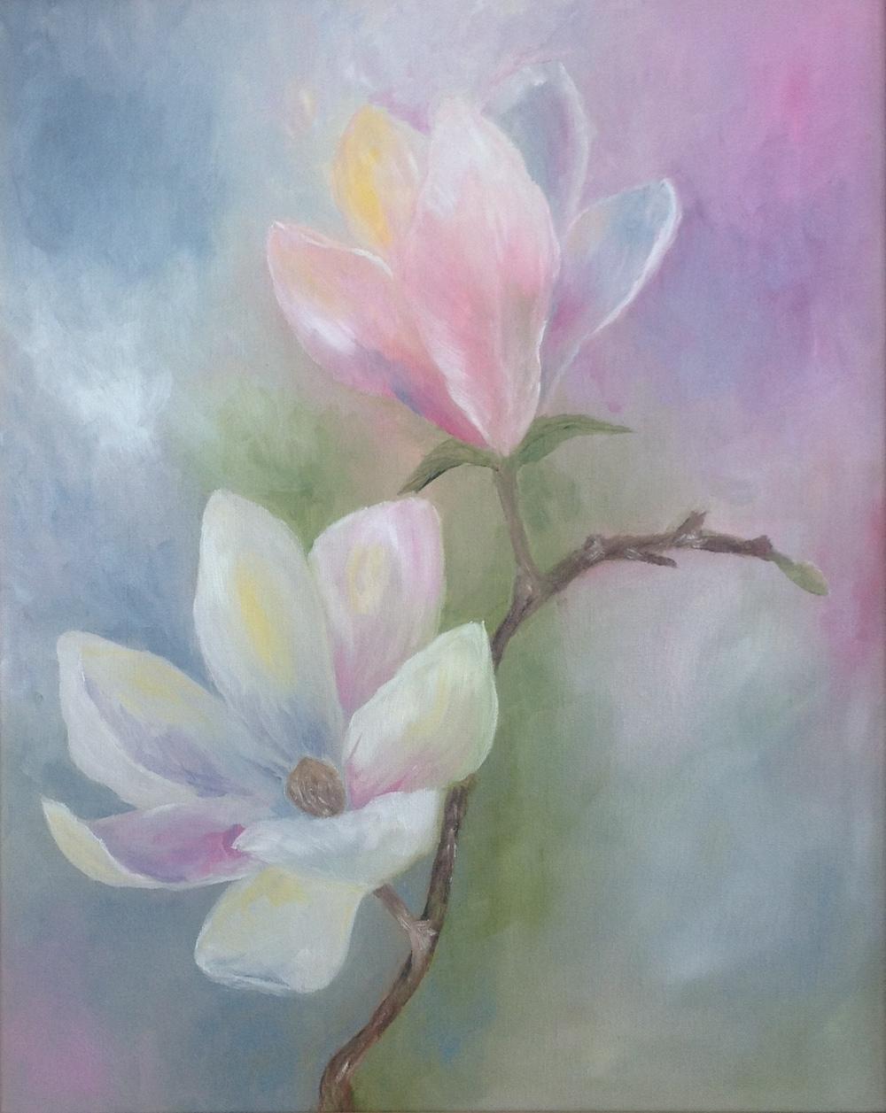 Magnolias Heralding Spring