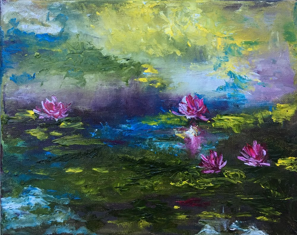 Turmoil at the Lily Pond