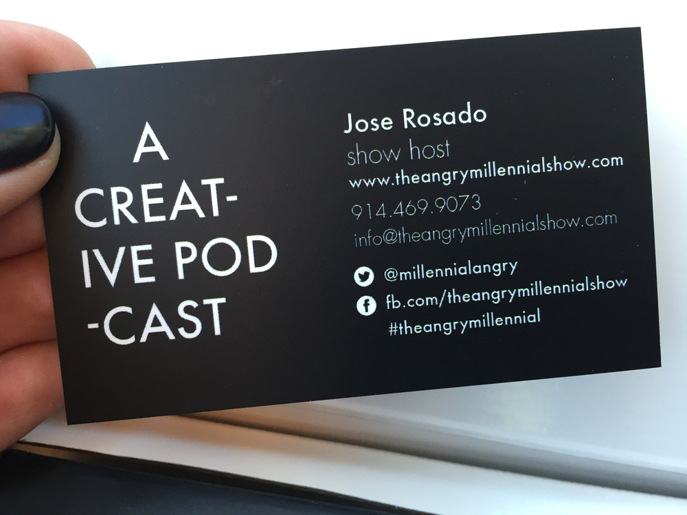 The Angry Millennial — New Moo business cards, marketing materials ...