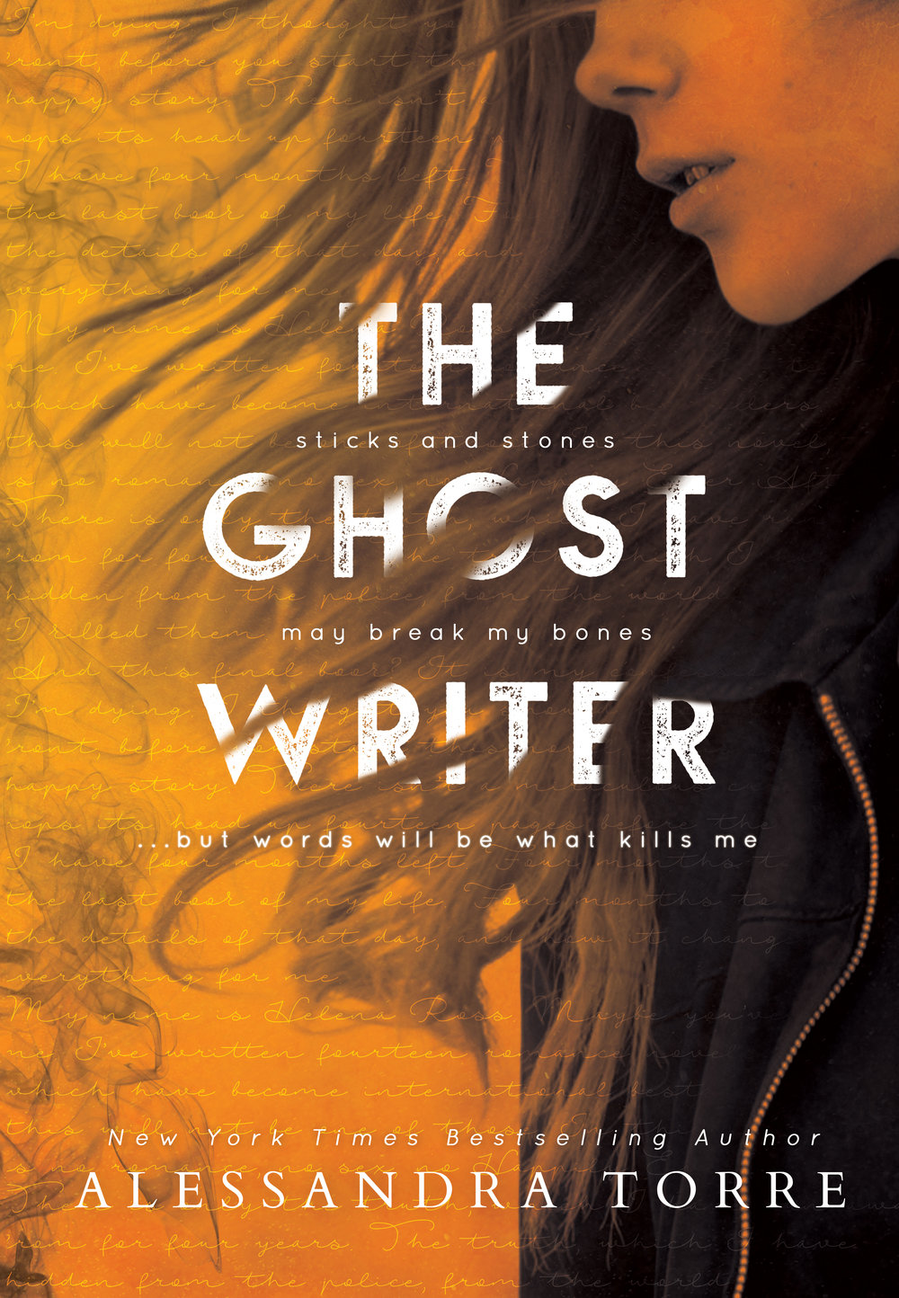 the ghostwriter ebook cover