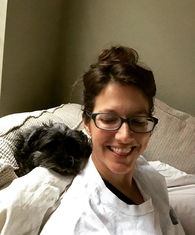 My pillow is starting to snore... 🤦🏻♀️ I'm working on a sexy novella that will release for free in audio on the @readmeromance podcast! Subscribe for free today! #amwriting #readmeromance #yorkiesofinstagram #authorlife