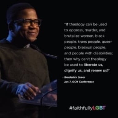 Video of my keynote at the 2016 Gay Christian Network Conference.