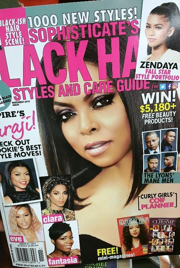 Sophisticate's Black Hair Magazine