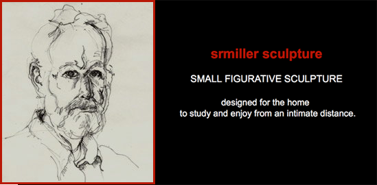 SMALL FIGURATIVE SCULPTURE designed for the home - to study and enjoy from an intimate distance.
