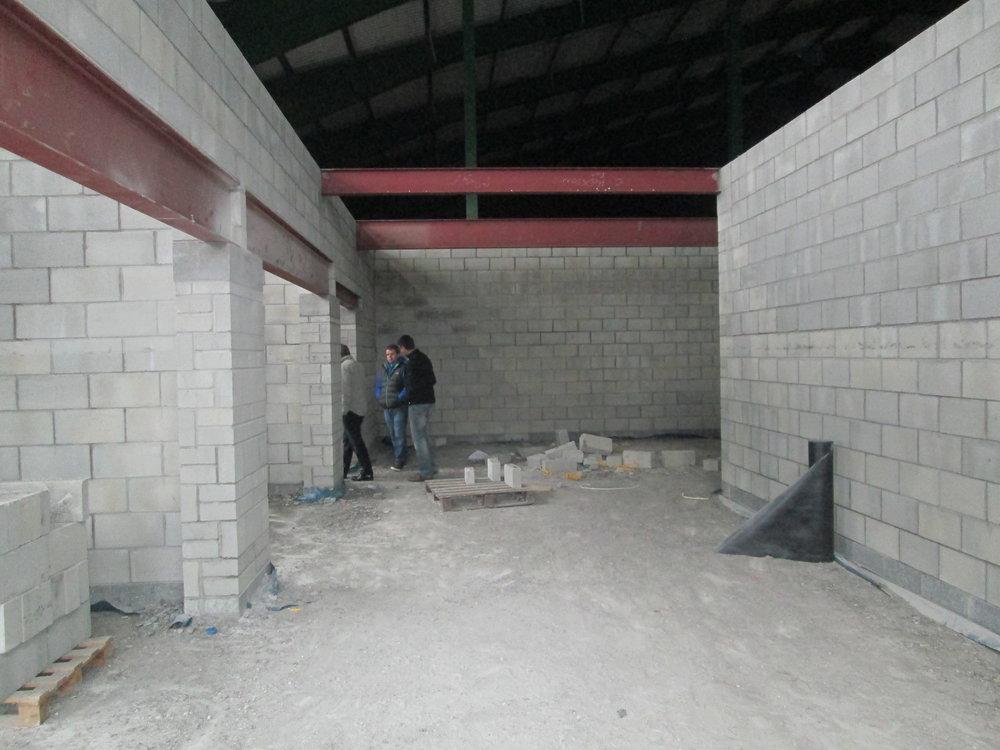 Entering via the main entrance