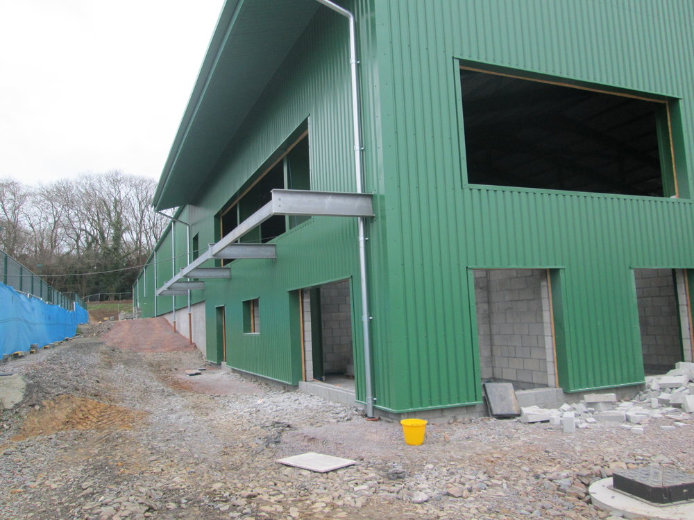 First floor leisure area and viewing balcony