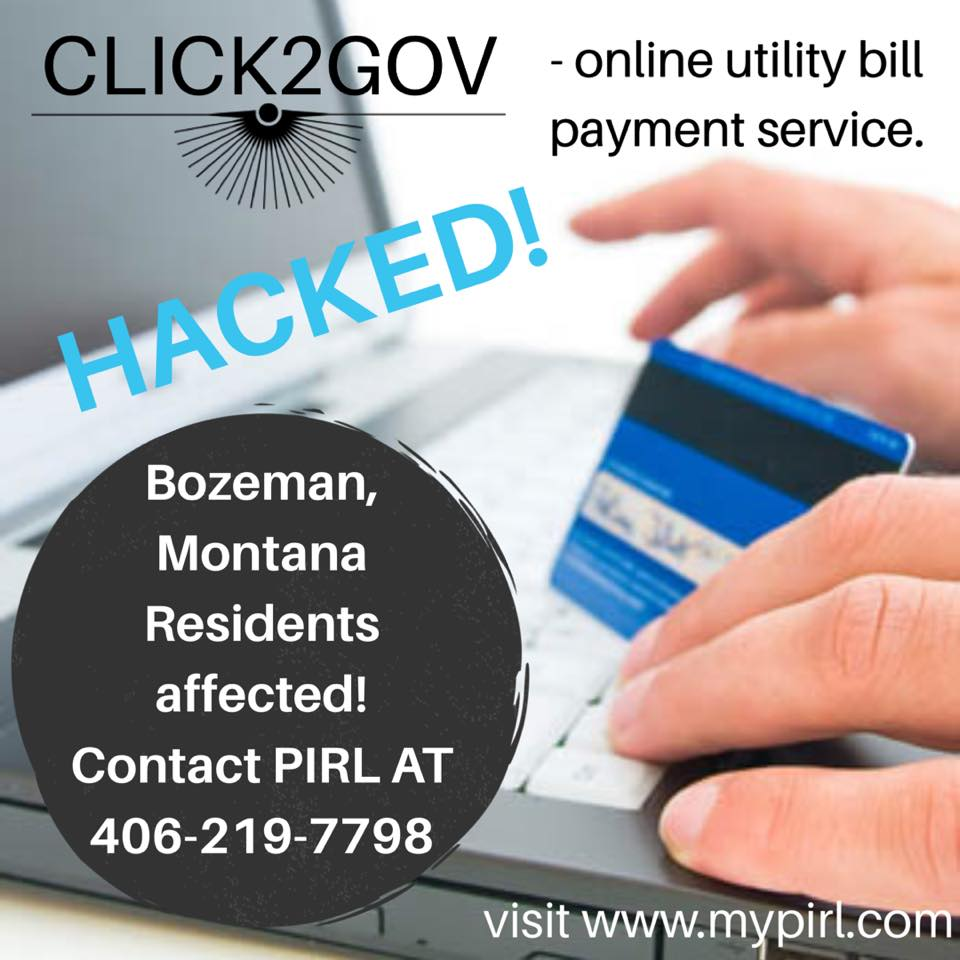 - Click2Gov Utility Payment Service Hacked