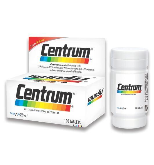 - Centrum's Chemical Cocktail