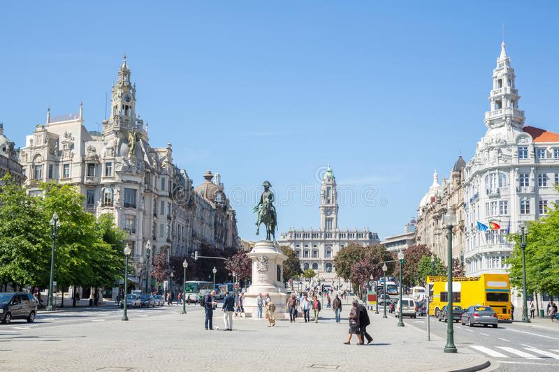 Praca dos Aliados, Porto