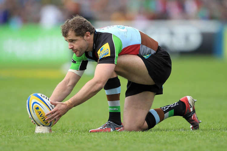 Harlequins & All Blacks Nick Evans