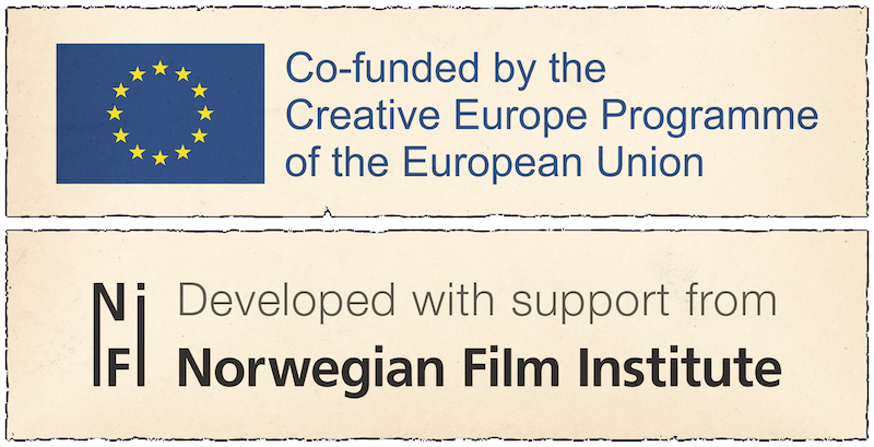 Draugen is created with the support of the Creative Europe programme of the European Union, the Norwegian Film Institute and Viken Filmsenter.
