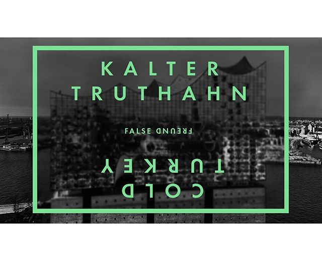 Equivalent German translation: KALTER ENTZUG // #falsefreund