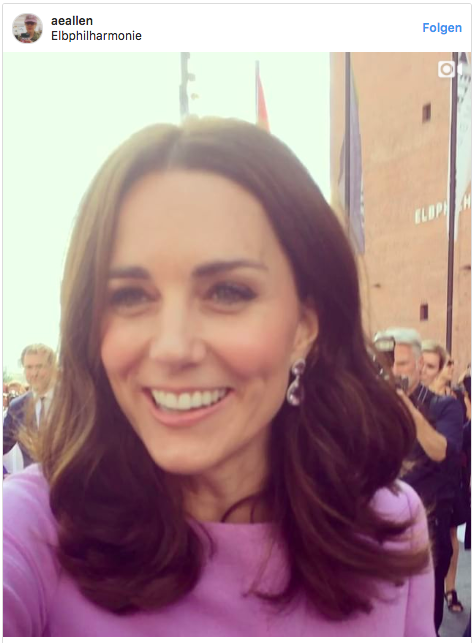 kate middleton in hamburg