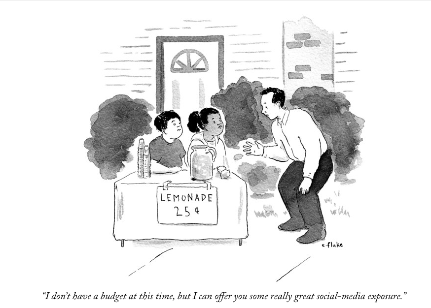 New Yorker Cartoon, December 7, 2018