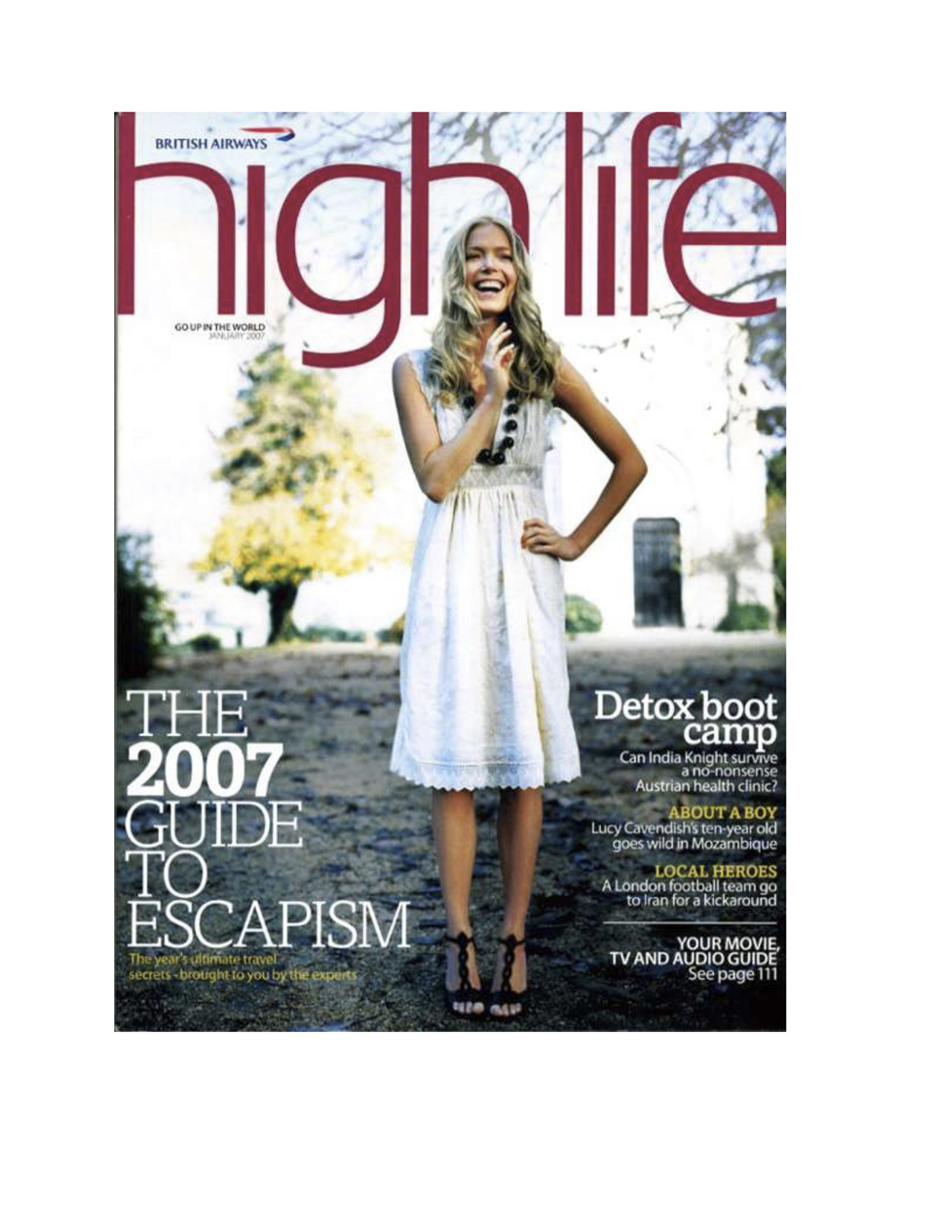 BA Highlife Magazine
