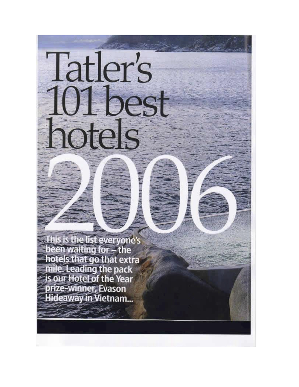 Tatler's 101 Best Hotels