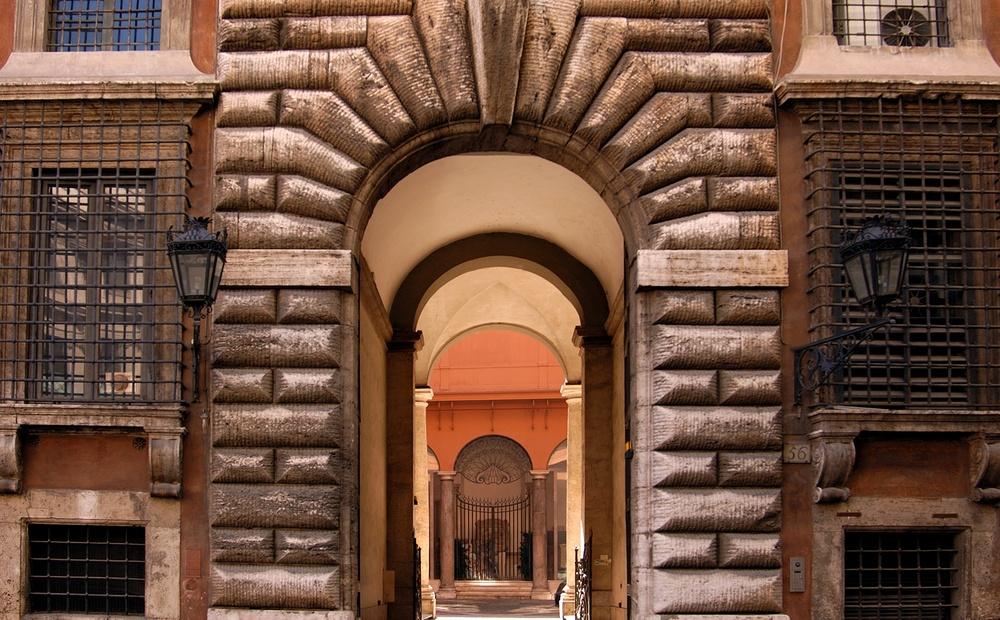 Palazzo Ruspoli's Entrance