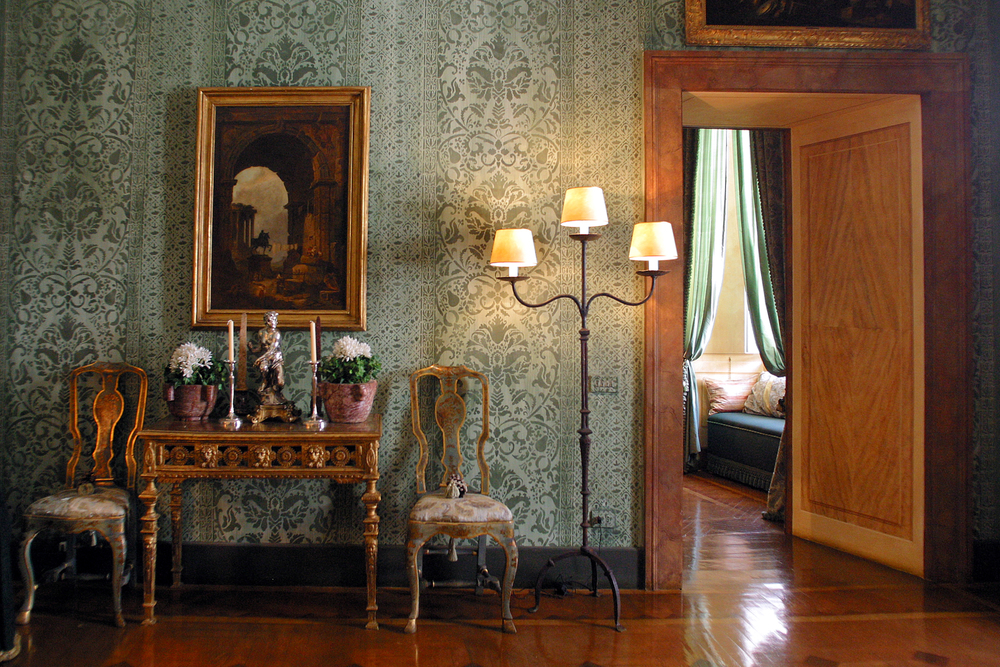 Napoleone Suite - Green Reception Room