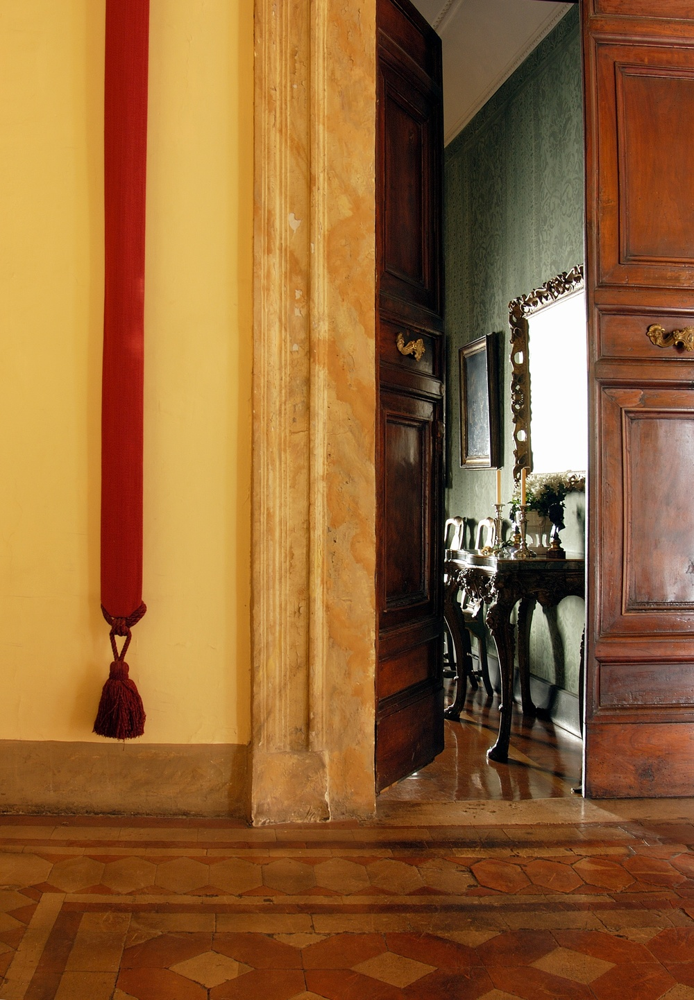 Napoleone Suite's Entrance