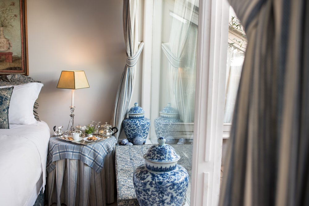 Blue room (available with the Napoleone Suite only)