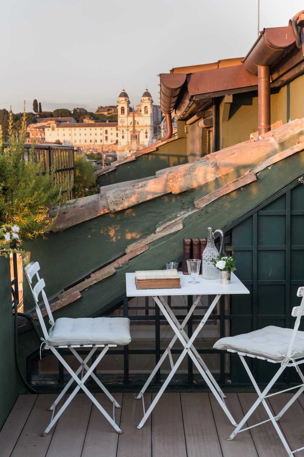 Garden Suite - views of the Spanish Steps