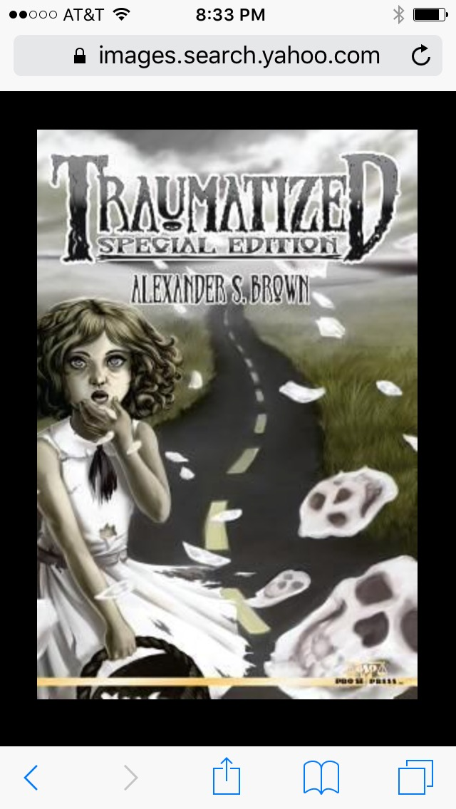My 3rd audiobook project: Traumatized - A book of scary short stories. Should be out in time for Halloween.