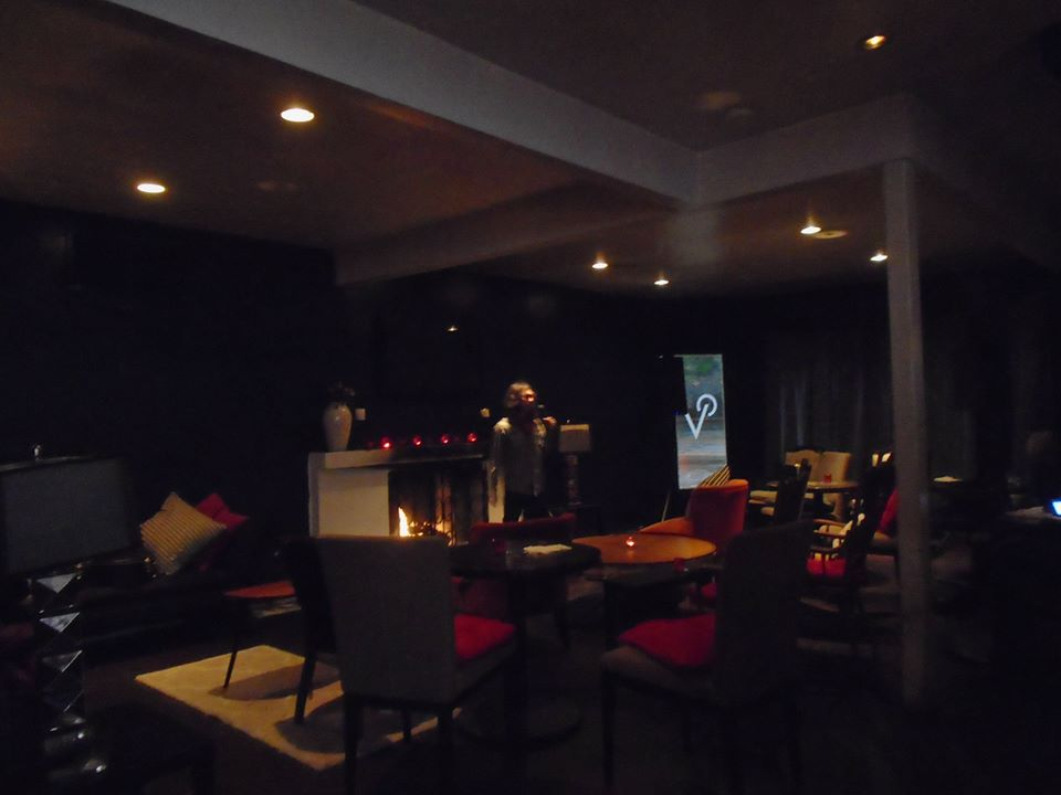 Jared alone at the doomed Vaucluse Lounge on Sunset Blvd.