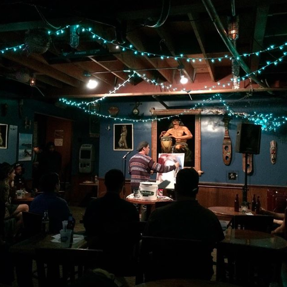 The Anchor Bar is one of the best. It's a tight space full of customers that are ready to watch comedy and drink. It's also a great hang outside, many friendships begin out there.