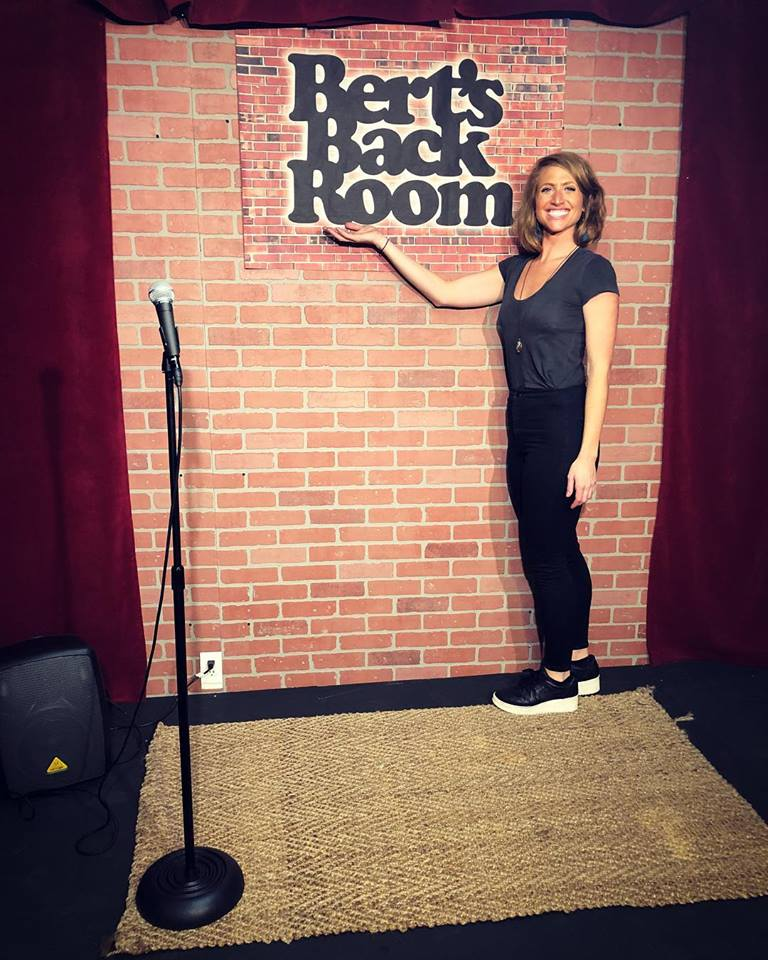 OPEN MIC REVIEWS- Rachel Cuthbert for Bert's Backroom
