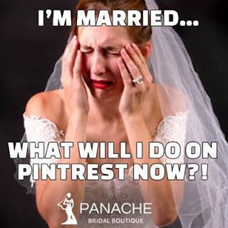 It's true haha :) #pintrest #mem #bride #wedding #dress #married