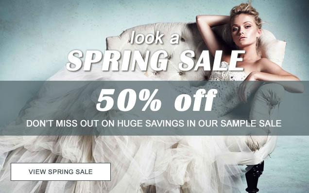 Seasonal 50% Sample Dress Sale