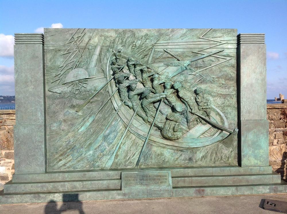 Michael Sandle Sculpture, Douglas Promenade, Isle of Man
