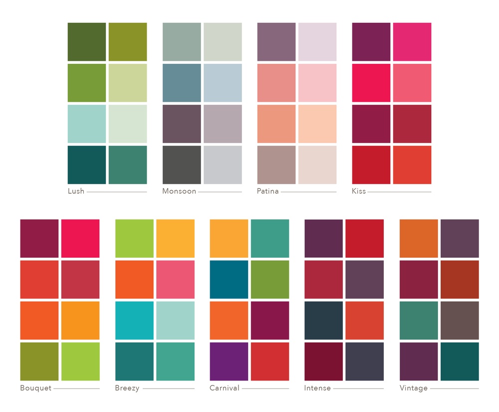 studio milledisegni custom color palettes