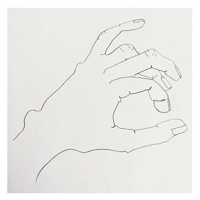 My left hand by @stinneknudsen #✏️ #illustration #vossknudsen