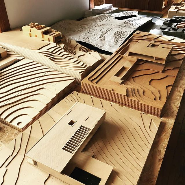 Beautiful scale models at Frederico Valsassina Arquitectos #inspiration