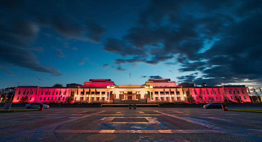 Old Parliament House in Canberra. Photo: Sam Ilić.