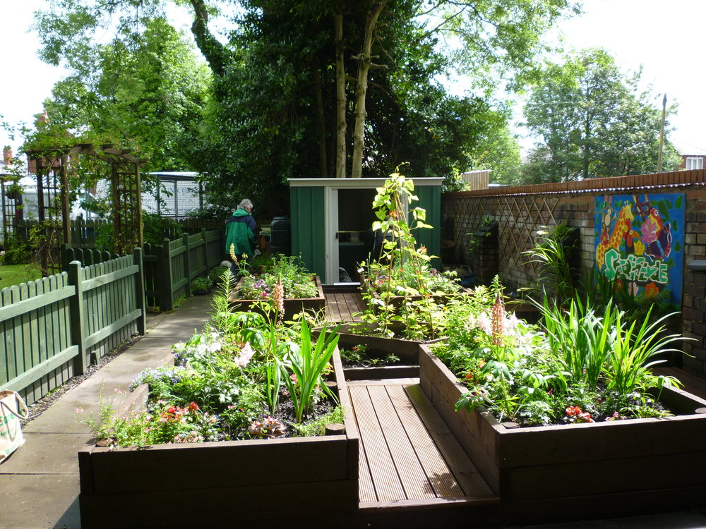 The re-developed and much loved Strathclyde garden - thanks G5!