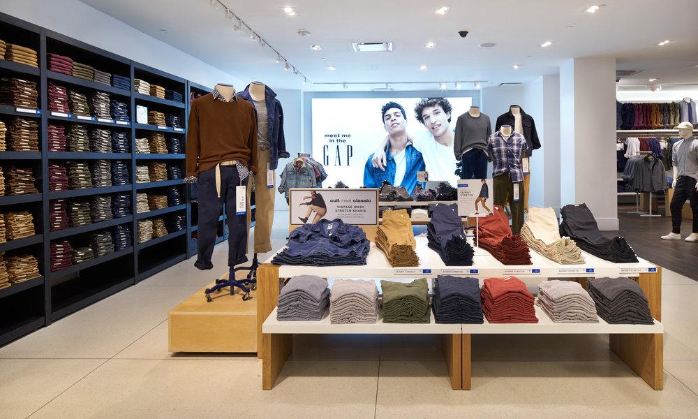 11 GAP In-store Design