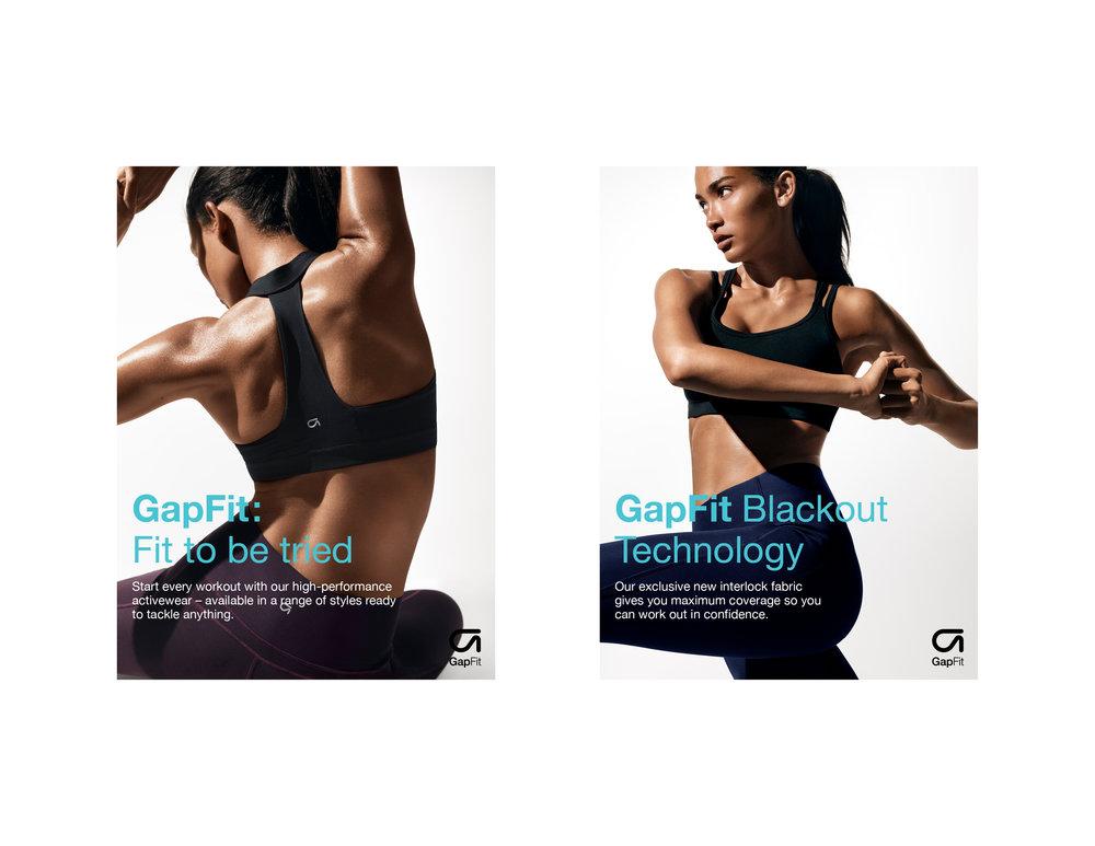 13 GAPFIT Print Campaign