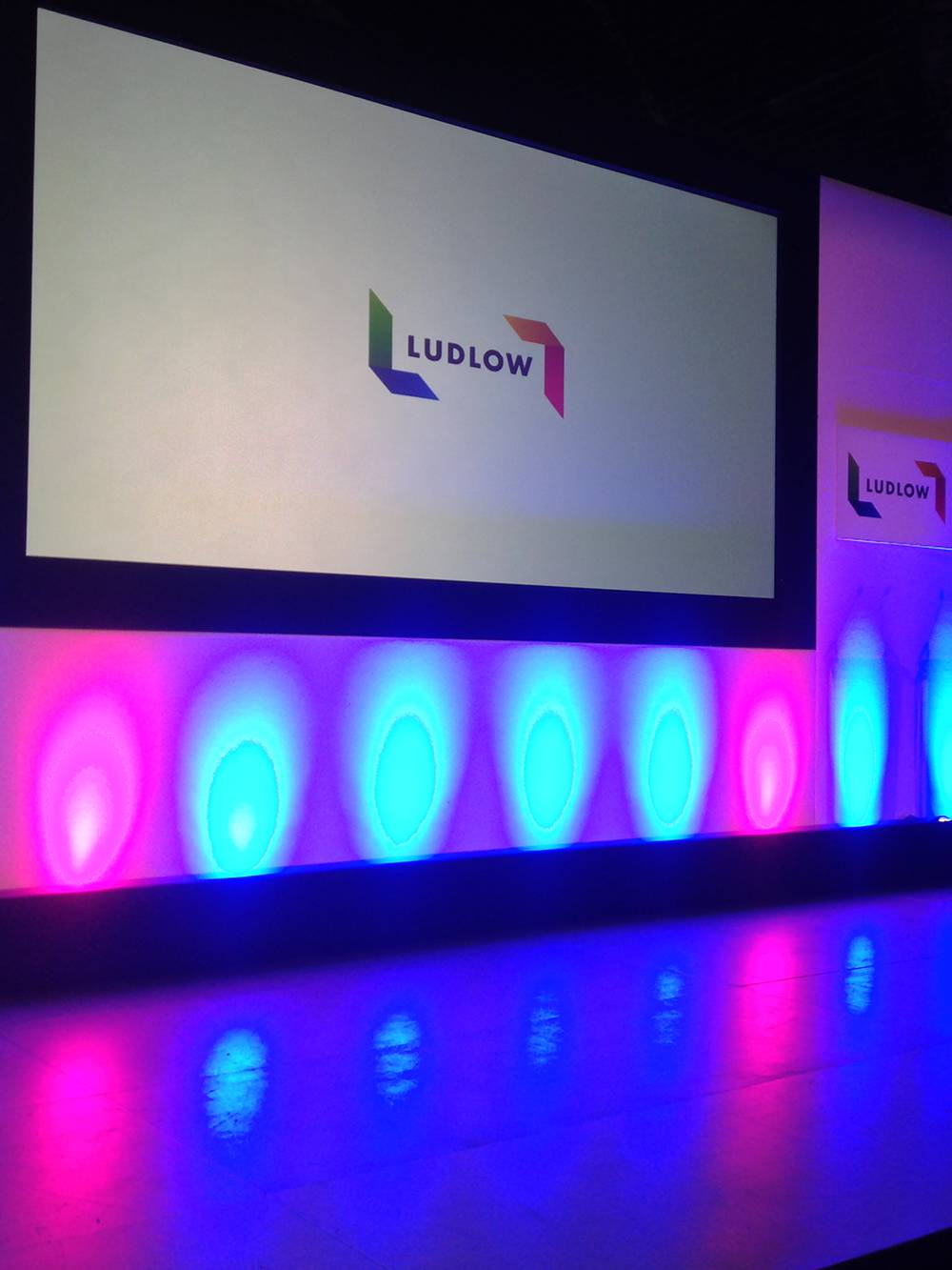 Conference Production Manchester including AV and Staging