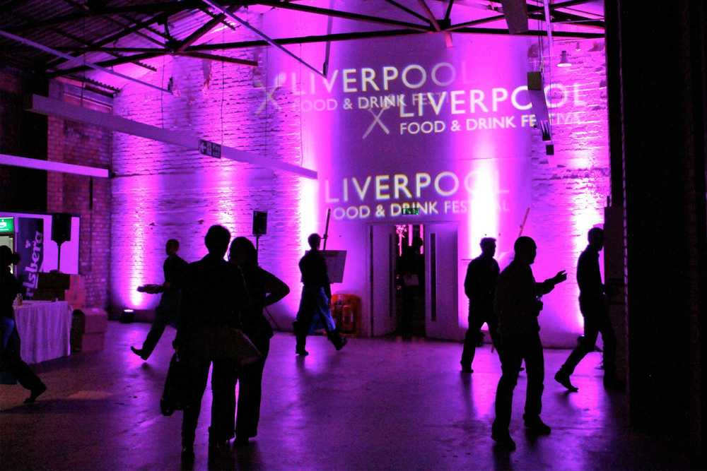 Awards Ceremony Production & AV Hire for Liverpool Food & Drink Awards at Camp & Furnace