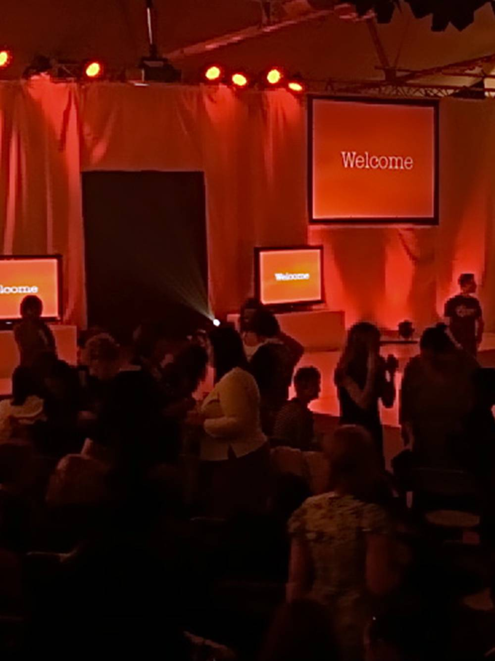 Fashion Show Production in Liverpool with Catwalk, Backdrop, Lighting and AV