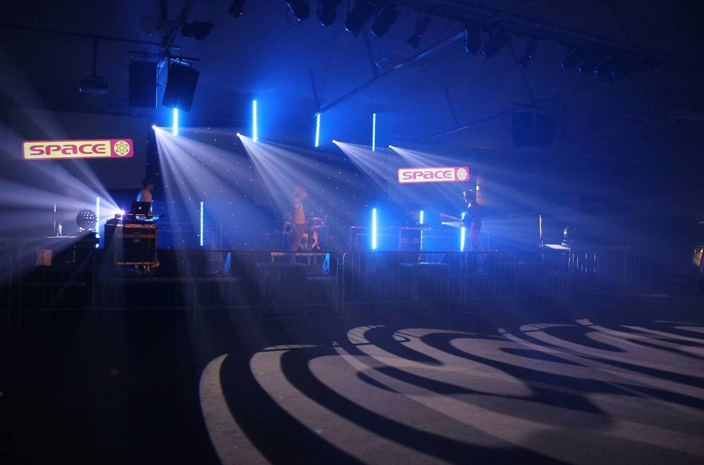 Concert Production - Lighting, Sound, Video & Staging for a concert in the North West