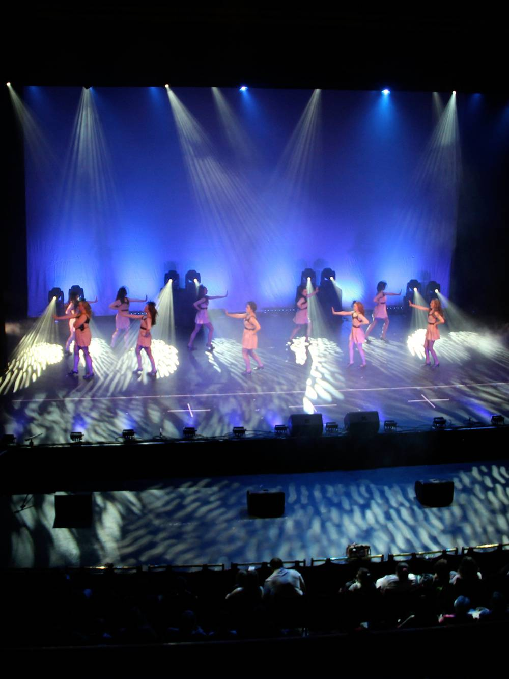 Lighting Hire for a Dance Show at Liverpool Empire Theatre