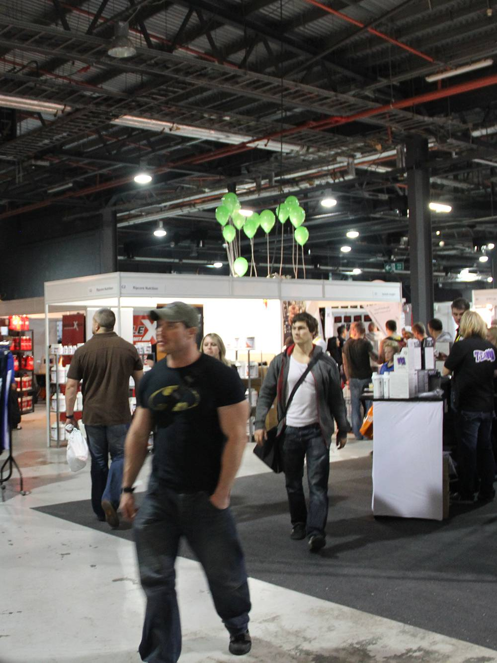Exhibition stands at Manchester Exhibition Centre