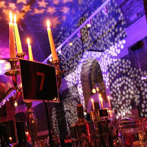 Lighting and AV for a Gala Dinner at Liverpool Cathedral